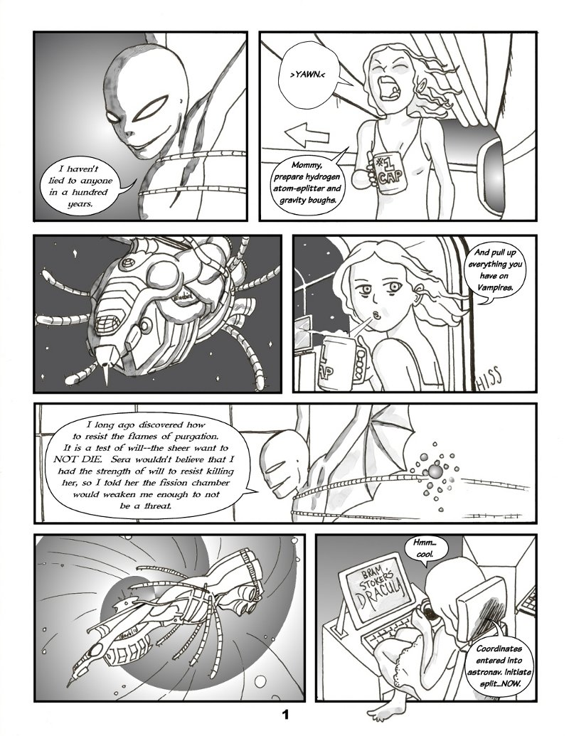 Forsaken Stars Issue Two Page 1
