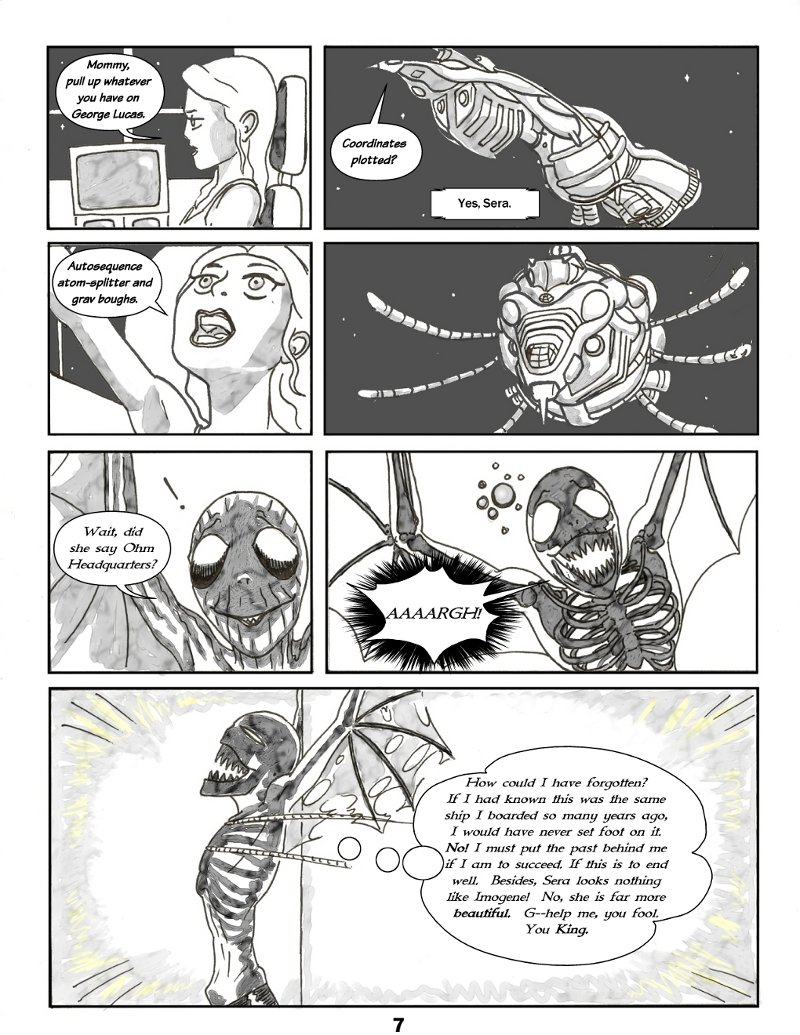Forsaken Stars Issue Two Page 7