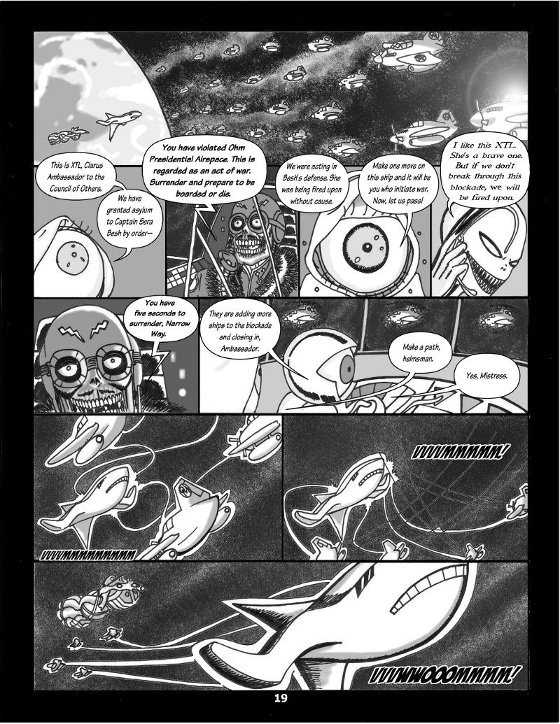 Forsaken Stars Issue Three, Page 19
