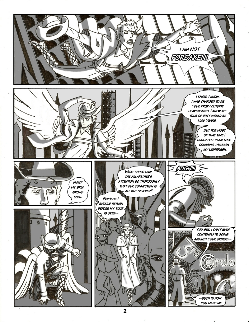 Forsaken Stars, Issue Five Page 2