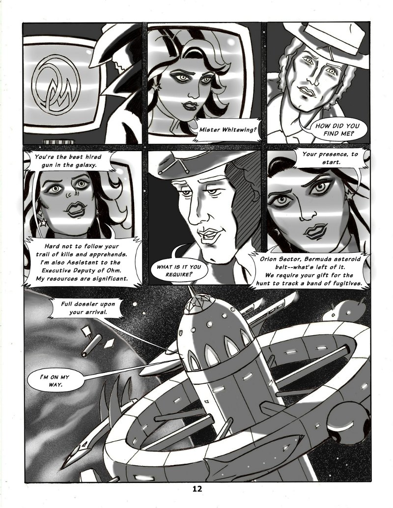 Forsaken Stars Issue Five, Page 12
