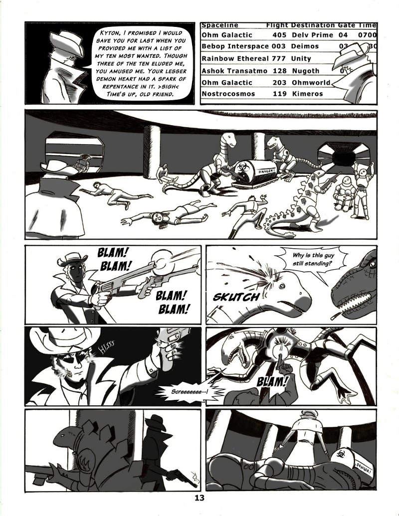 Forsaken Stars, Issue Five, Page 13