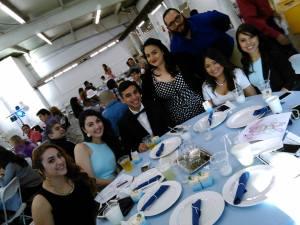 Ady, Nadine, Sal, Tiffany, Lorenzo, Noemi, Tracy
