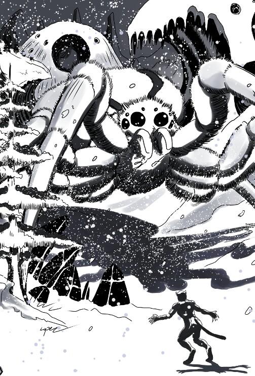 Along Came A Snow Spider