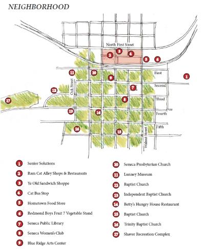 210 S Townville St Neighborhood
