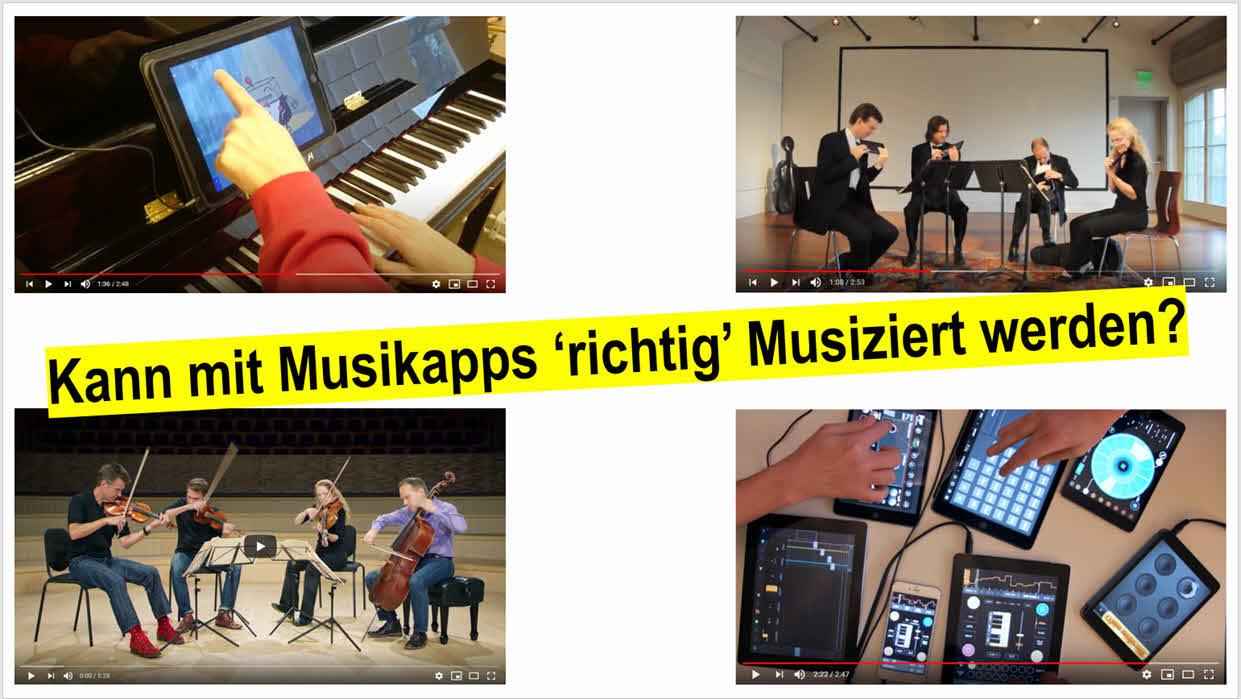 Explorative Videoanalysen von Spielbewegungen beim Musizieren mit Apps