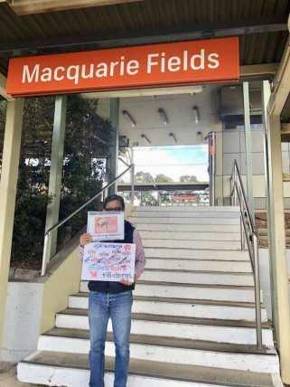 Thai Anti Junta Sydney Protest FORSEA 7