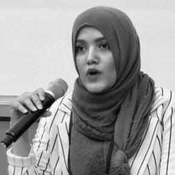 Yasmin Ullah, Rohingya activist from Canada at the Seoul Conference August 23, 2019