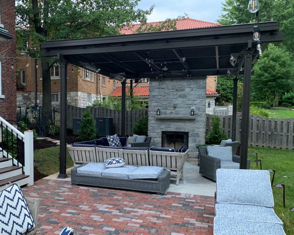 motorized aluminum patio covers