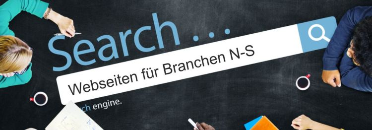 Business Webdesign aus Passau – Branchen N-S