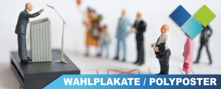Wahlplakate Druckerei