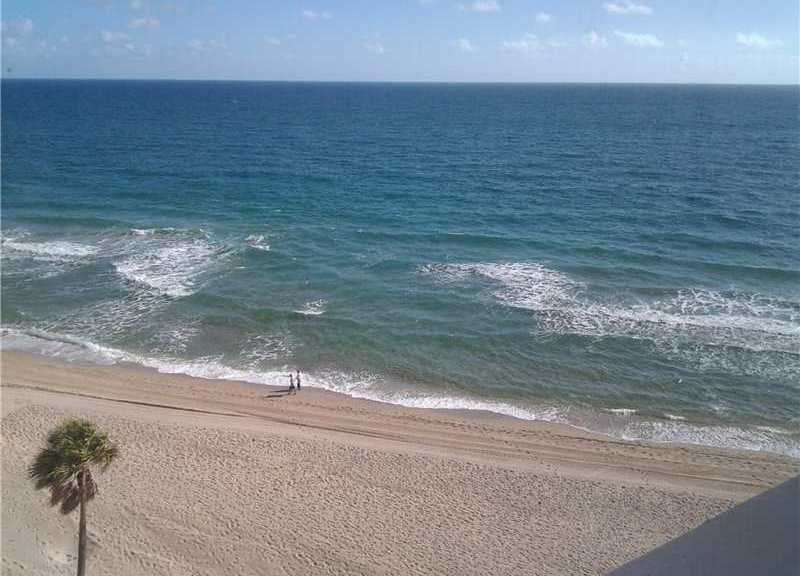 Ocean views from Edgewater Arms here in Ft Lauderdale