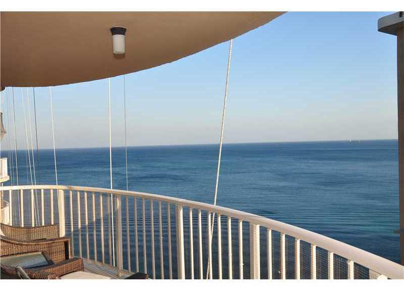 Ocean views from a condo in the South Point condominium here on Galt Ocean Mile