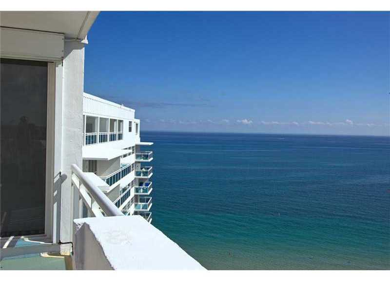Views of the ocean from the Commodore Condominium