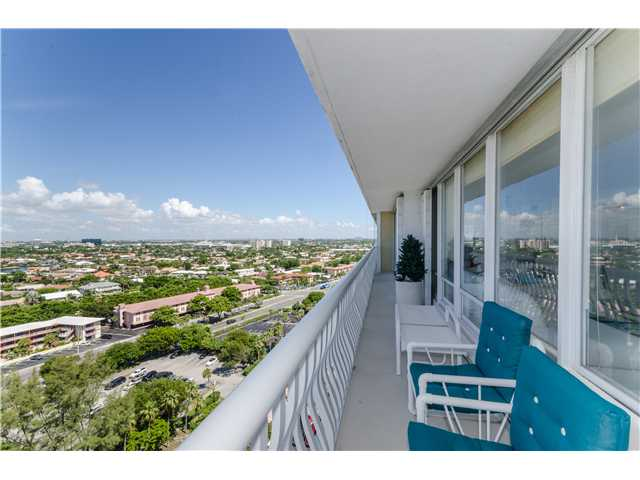 Skyline views from a condo here on Ocean Club Ft Lauderdale
