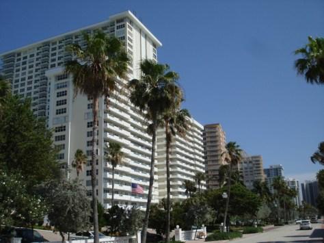 View of Galt Ocean Mile Condos here in Ft Lauderdale