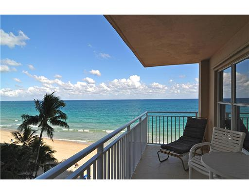 View of ocean from a condo here in Regency Tower South Fort Lauderdale