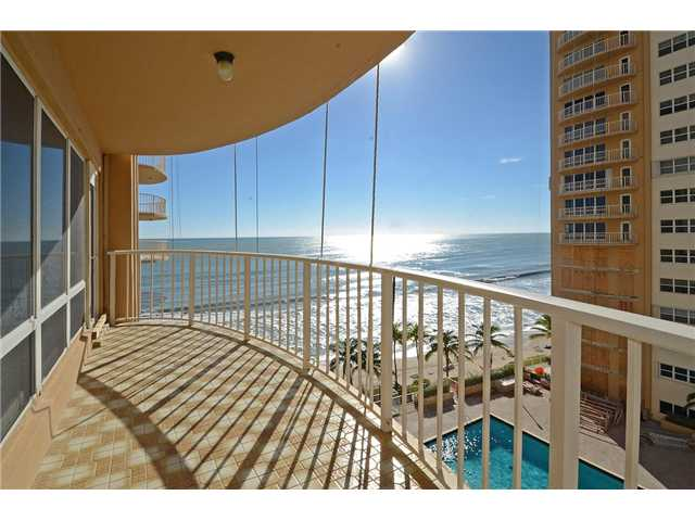 Ocean views from a condo here in Southpoint Condominium Fort Lauderdale