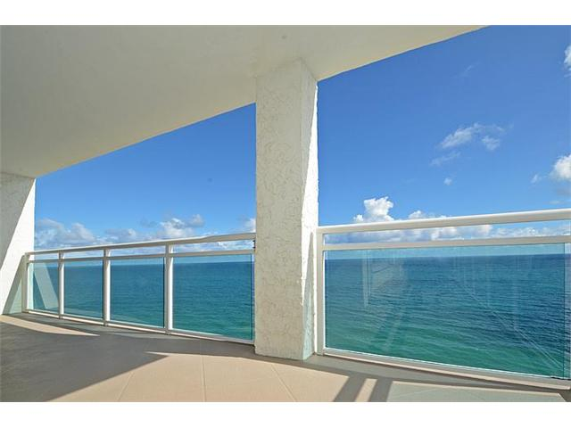View from a condo in Playa Del Mar Fort Lauderdale