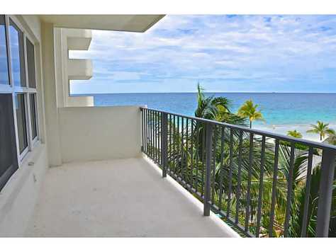 View from Ocean Riviera condominium here in Ft Lauderdale