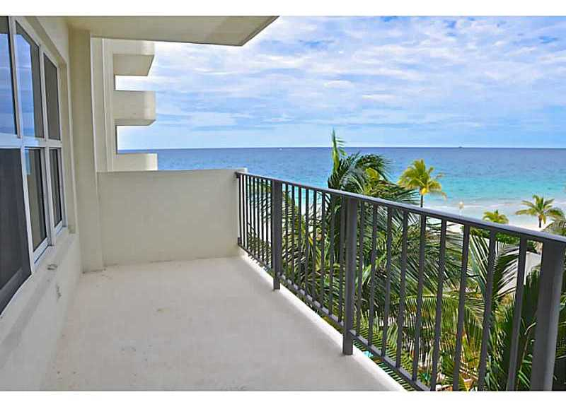 View from Ocean Riviera condominium here in Ft Lauderdale