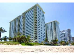 View of Southpoint Condominium from the Beach