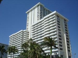 View of Playa Del Mar Ft Lauderdale