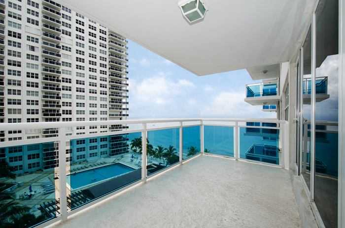 View from a condo for sale here in The Commodore Fort Lauderdale
