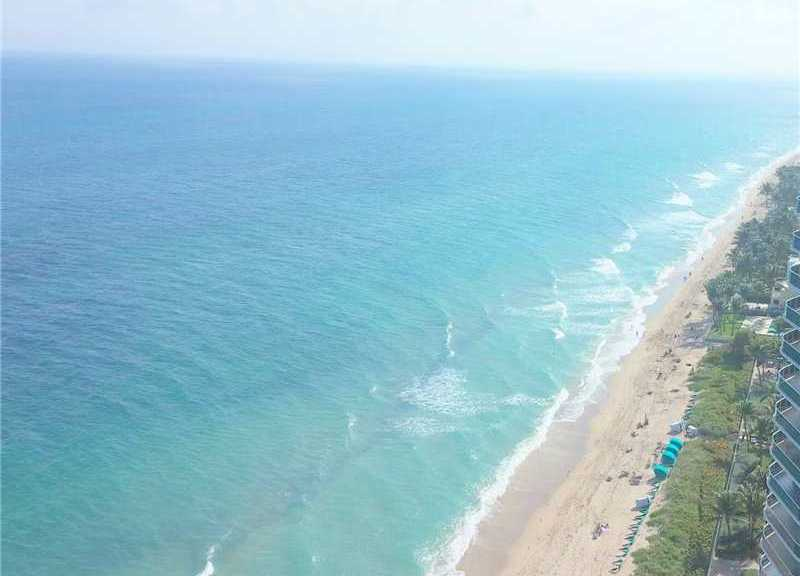 View from a 3 bedroom condo for sale here in Southpoint Fort Lauderdale