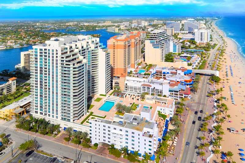 View of Fort Lauderdale Condos
