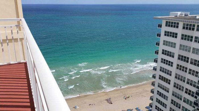 Views from a Fort Lauderdale condo for sale here in Regency Tower South