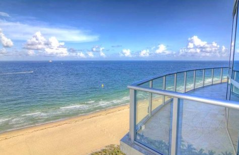 Views from this luxury Fort Lauderdale oceanfront condo for sale