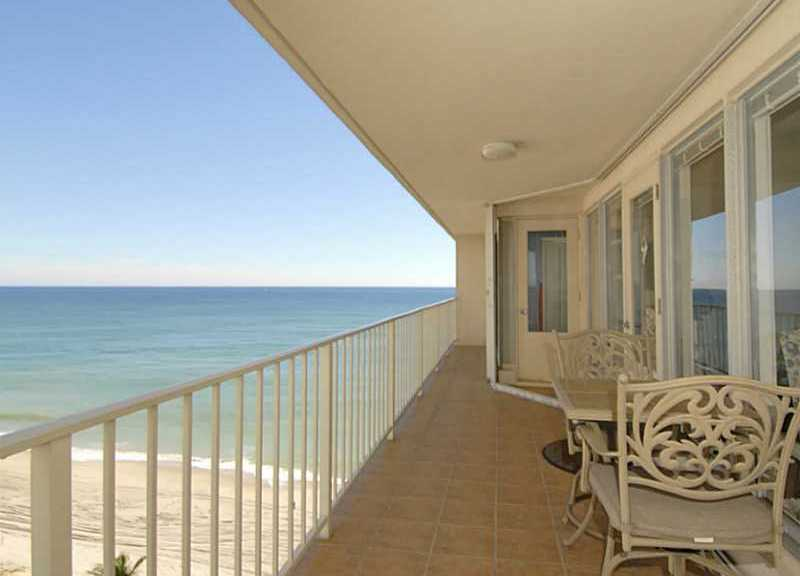 Ocean views from one of The Galleon condos for sale - a new listing!