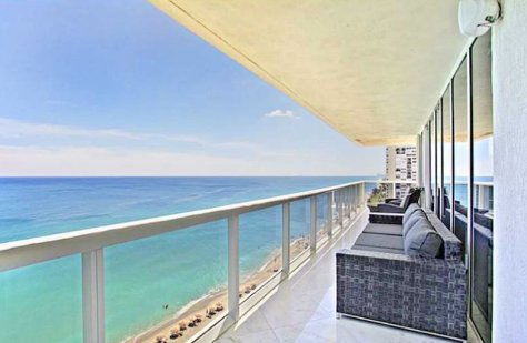 Views from one of the many pet friendly Fort Lauderdale condos for sale