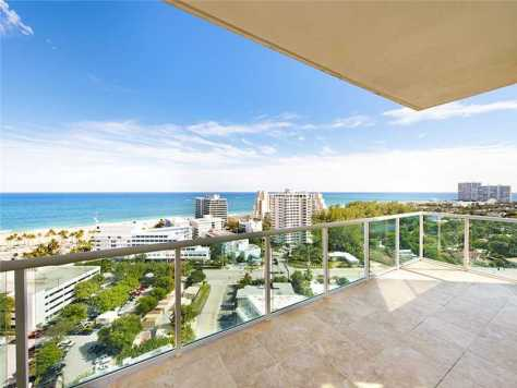 Views from one of the Fort Lauderdale condos for sale
