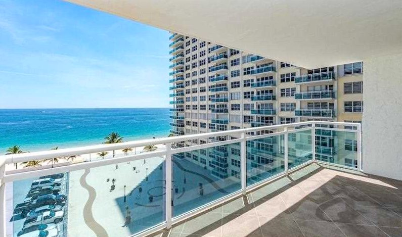 View from Fort Lauderdale condo for sale in Playa del Mar