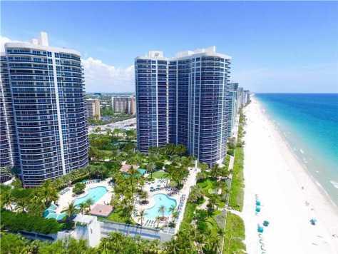 Ocean views from luxury Fort Lauderdale condos for sale here in Galt Ocean Mile