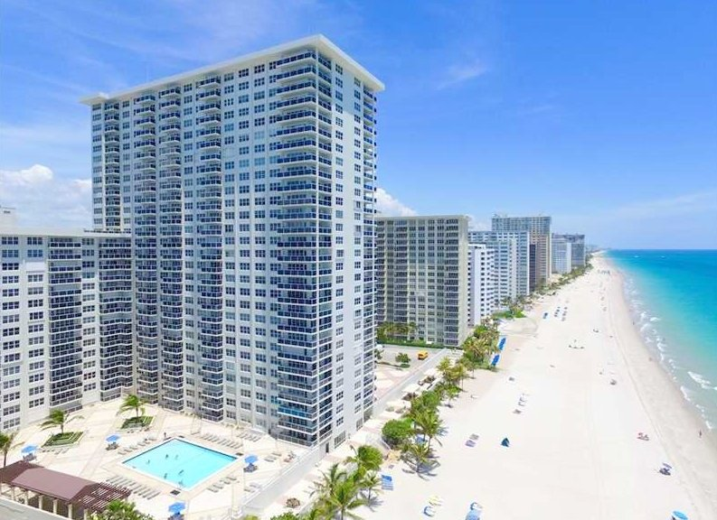 View of Galt Ocean Mile condo here in Fort Lauderdale FL