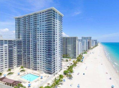 View of Galt Ocean Mile condomniums Fort Lauderdale