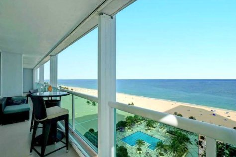 Look at the superb views from this 2 bedroom oceanfront condo for sale!