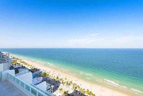 View luxury 3 bedroom Fort Lauderdale oceanfront condo for sale