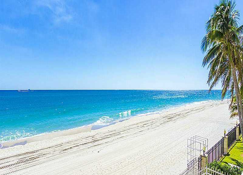 Beach views from one of the Plaza East condos for sale Fort Lauderdale