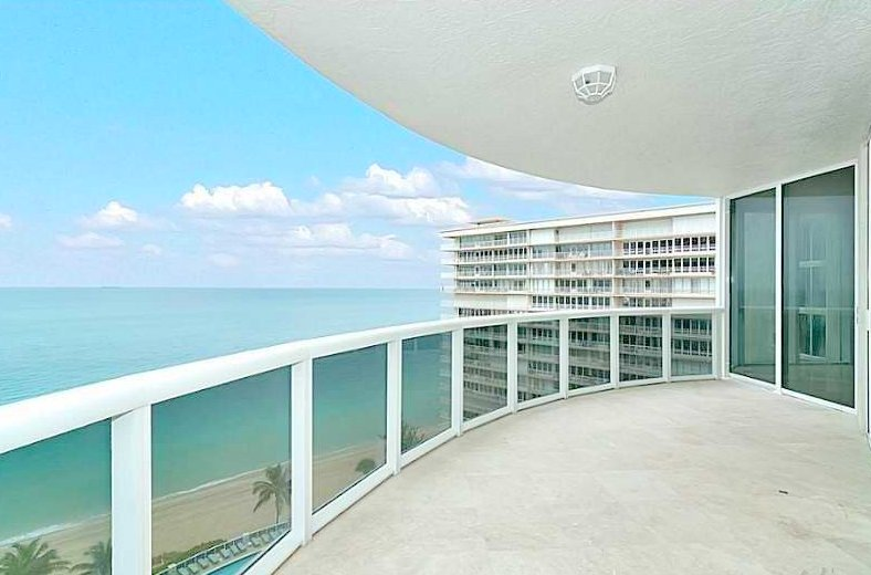 View from one of the luxury L'Ambiance condos for sale Fort Lauderdale