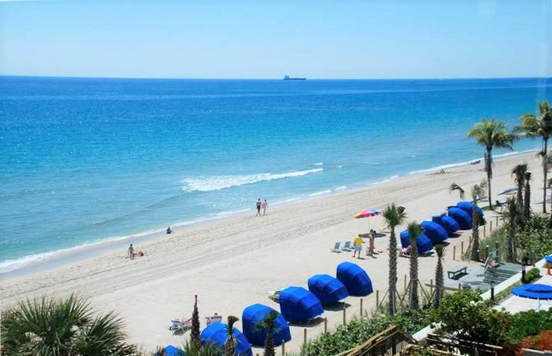 Beach views Fort Lauderdale condo for sale Edgewater Arms Galt Ocean Mile