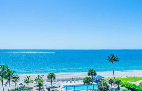 View Caribe oceanfront condo Lauderdale by the Sea Fort Lauderdale