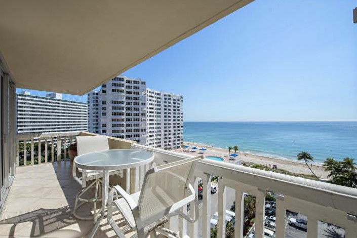 View Fort Lauderdale oceanfront condo for sale Plaza East Galt Ocean Mile