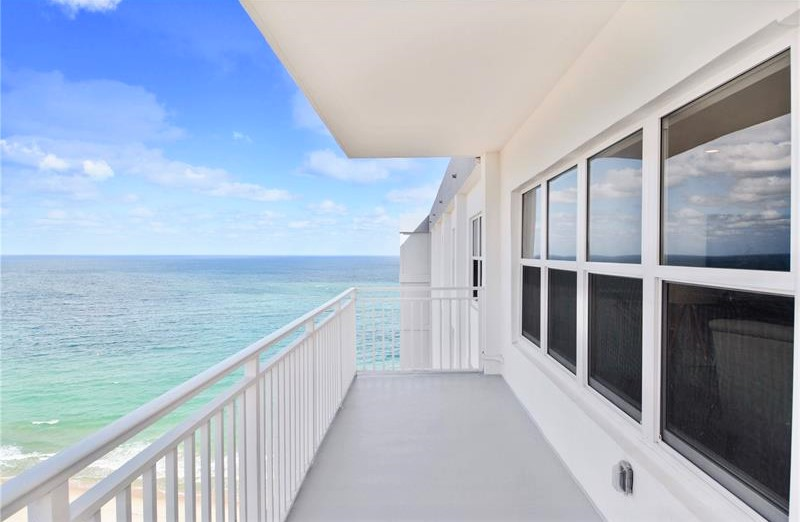 View Fort Lauderdale oceanfront condo for sale Regency Tower South on Galt Ocean Mile