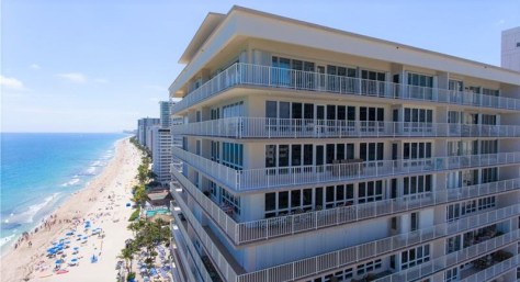 View of one of The Galleon condos for sale Galt Ocean Mile Fort Lauderdale