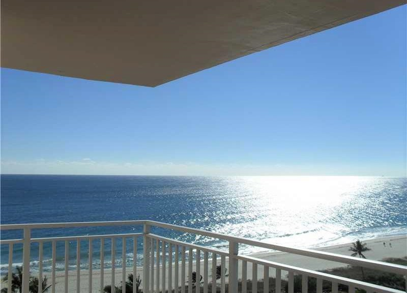 Oceanfront views Sea Ranch Lakes condo for sale Lauderdale by the Sea