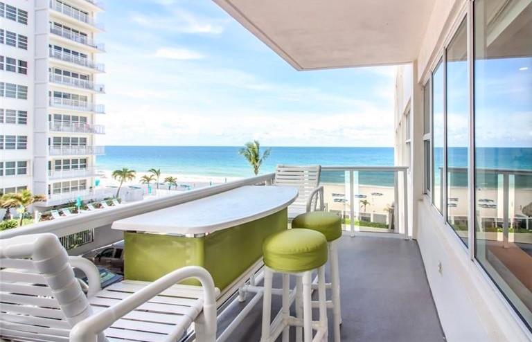 Oceanfront views Galt Ocean Mile condos for sale Royal Ambassador Unit 304